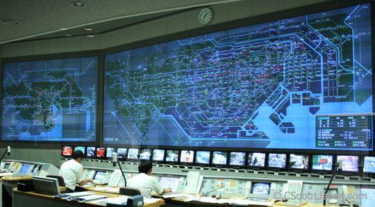 Ситуационный центр. Система визуализации данных